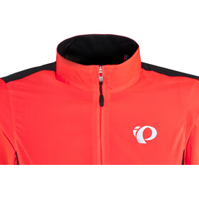 PEARL iZUMi Elite Pursuit Hybrid Jacket Women fiery coral/black